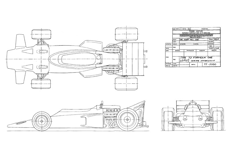 formula ford blueprints