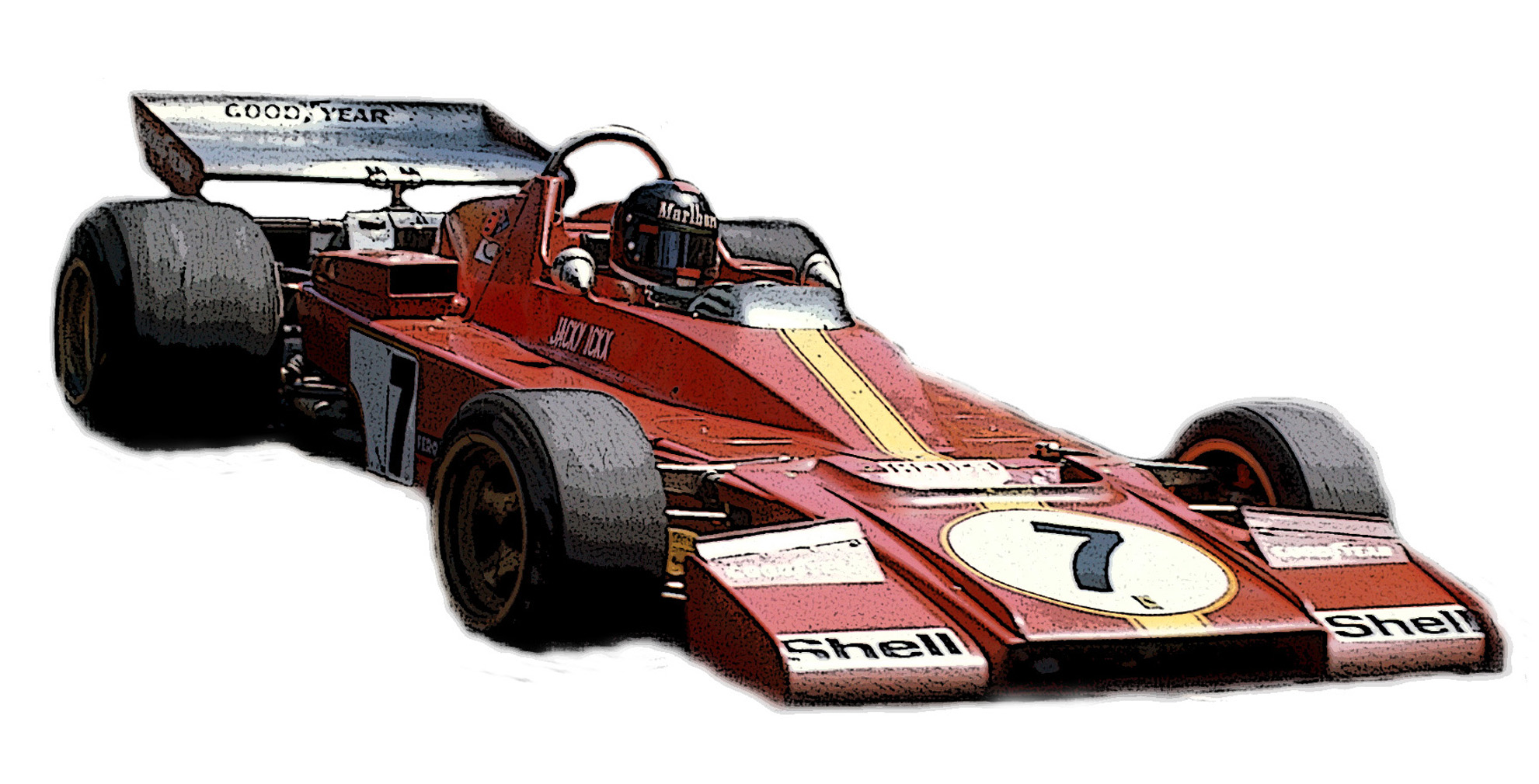 FERRARI 312 B3 GP MONACO 1973 TAMEO KITS SERIE SILVERLINE